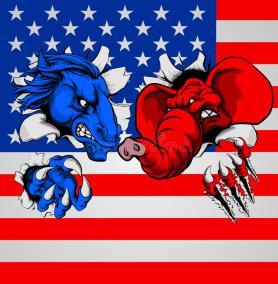 political fight