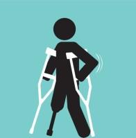 Person on Crutches