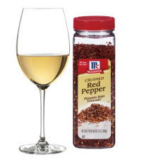 wine and pepper