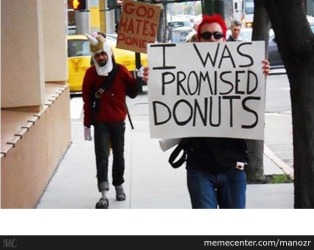 Promised Donuts sign