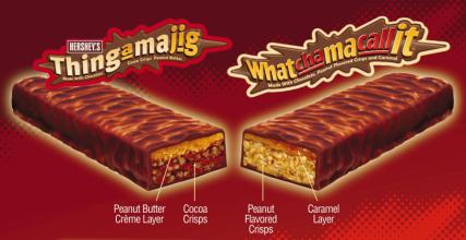 Thingamajig & Whatchamacallit candies