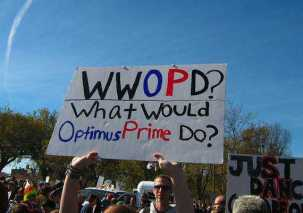 What would Optimus Prime do