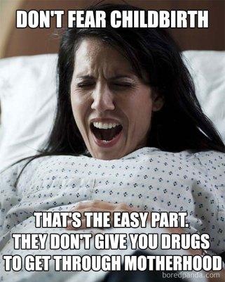 no drugs for motherhood